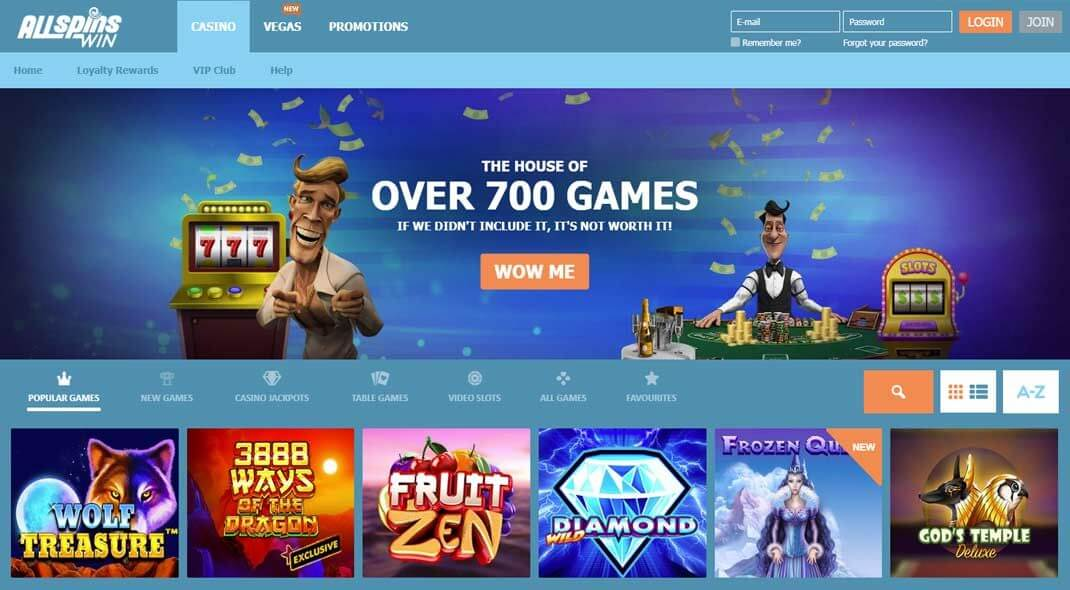 All Spins Win Online Casino review