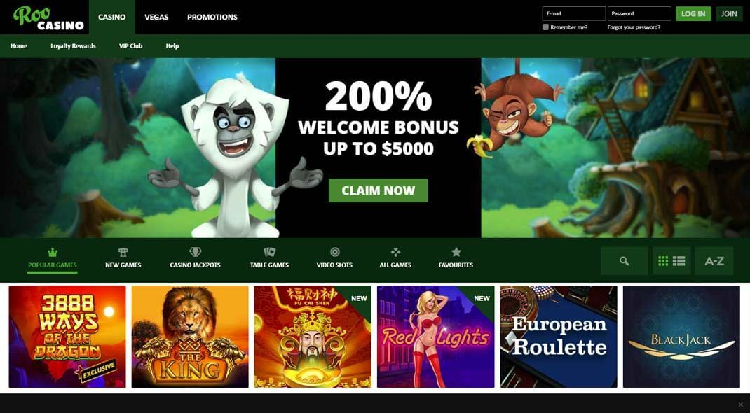 Roo Online Casino review