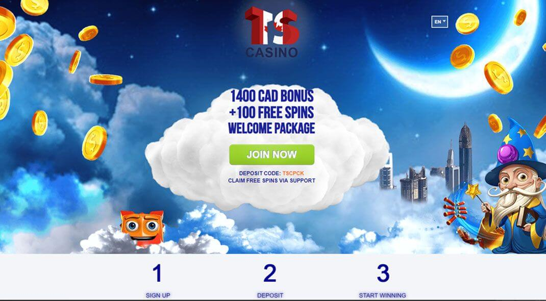 TS Online Casino review Canada