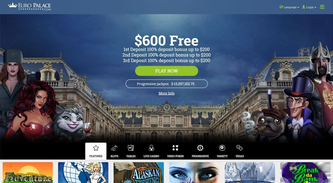 Euro Palace Online Casino review Canada