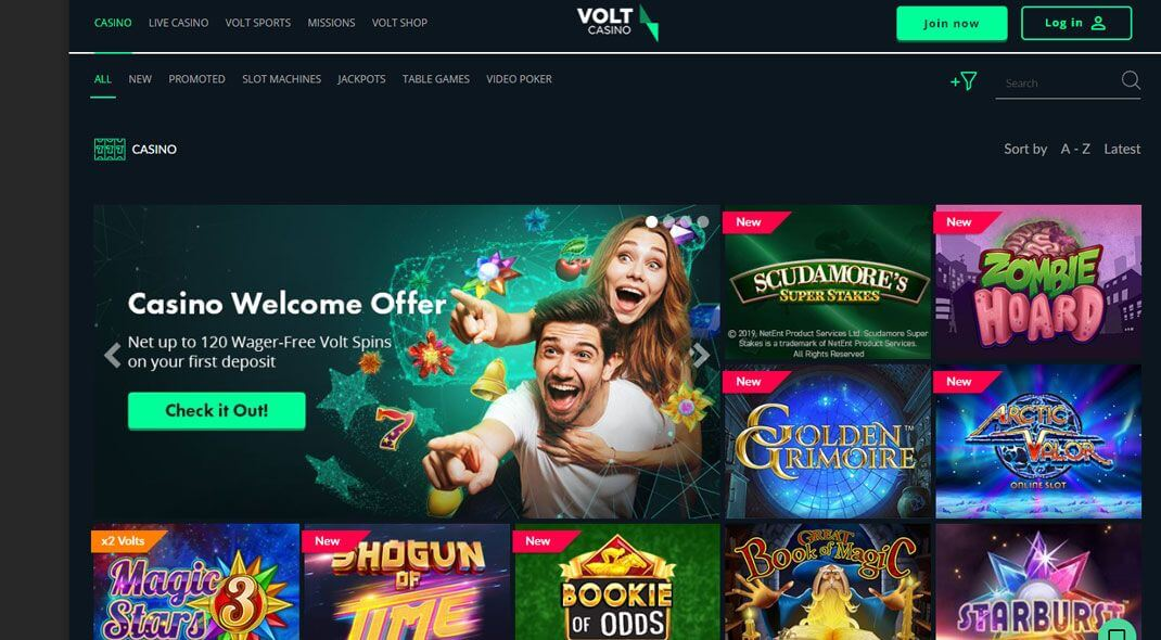 Top UK Volt Casino review