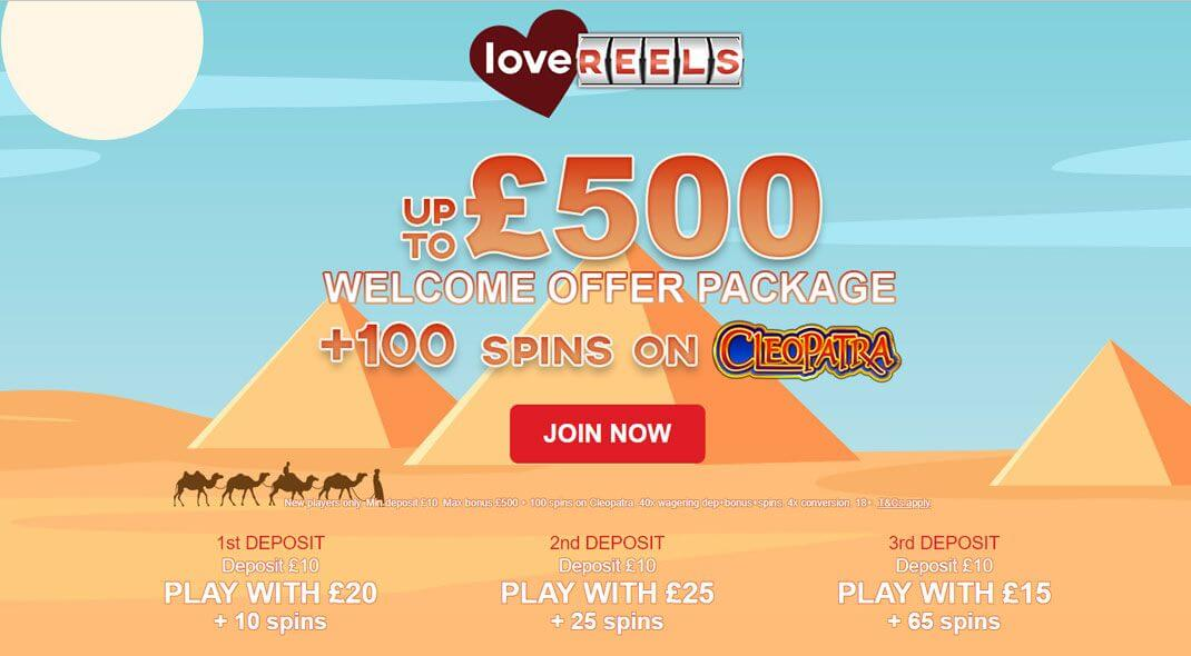 Top UK Love Reels Online Casino review