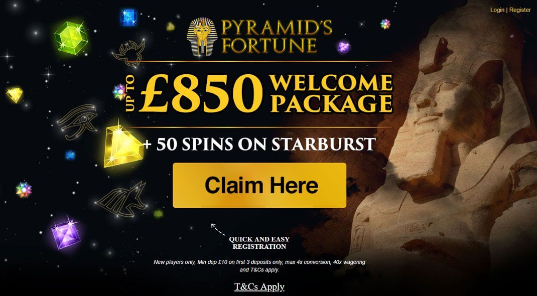 Top UK Pyramids Fortune Casino review