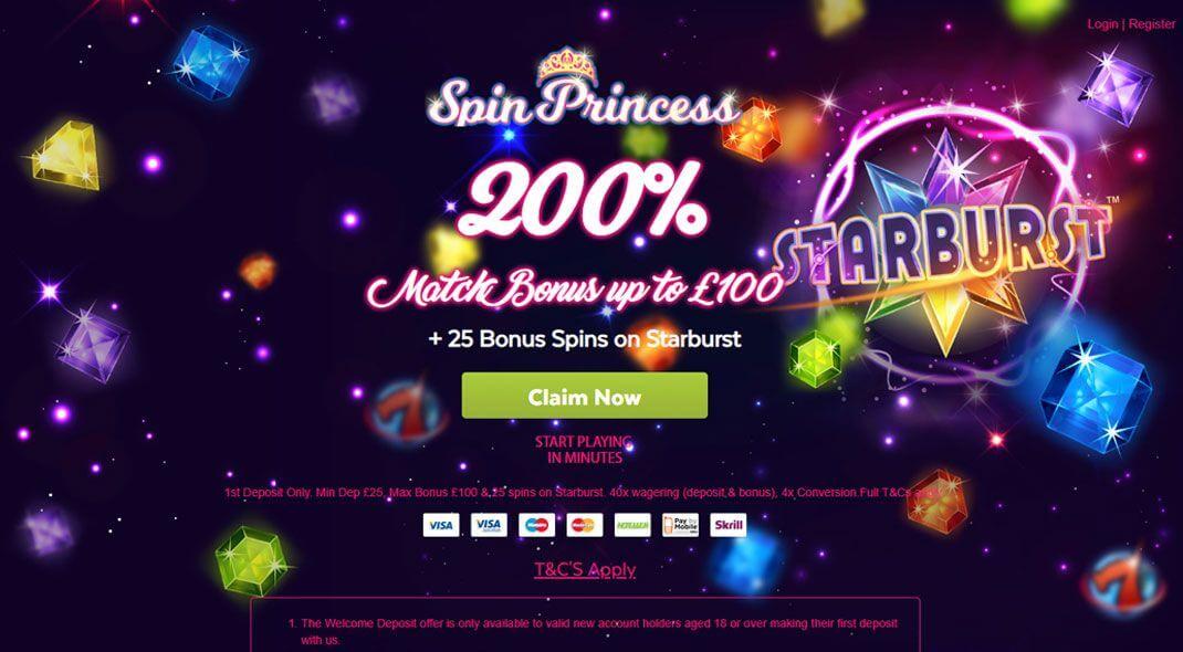 Top UK Spin Princess Casino review