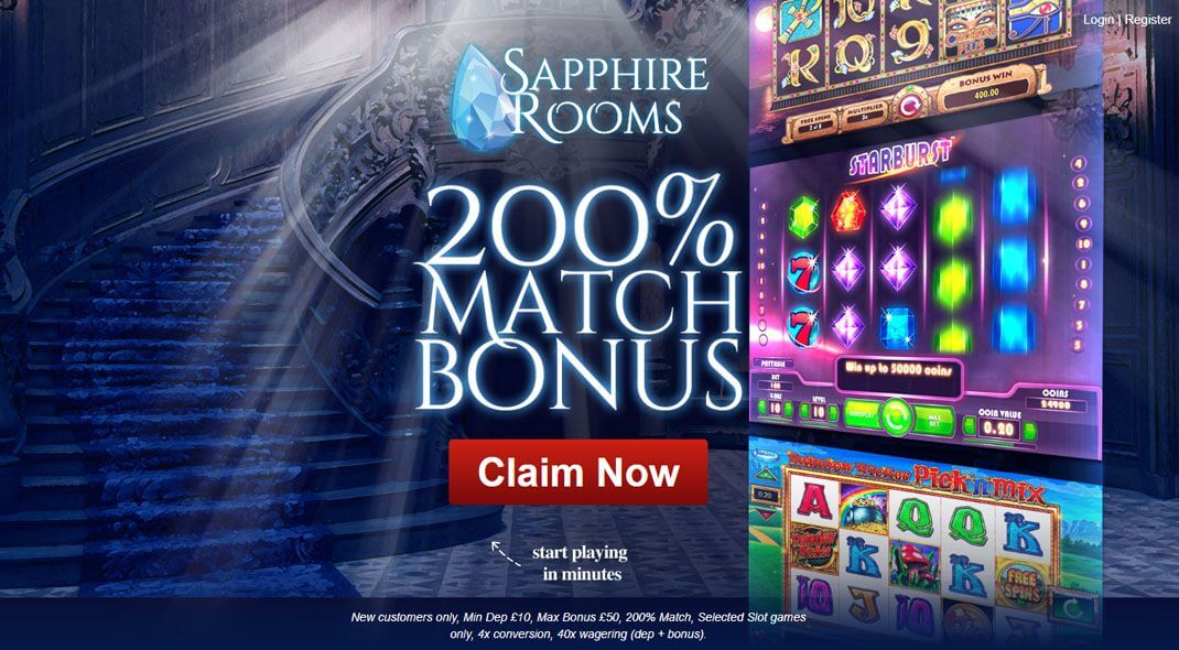 Top UK Sapphire Rooms Casino review