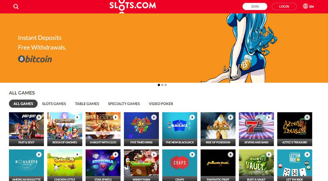 Slots.com Online Casino review