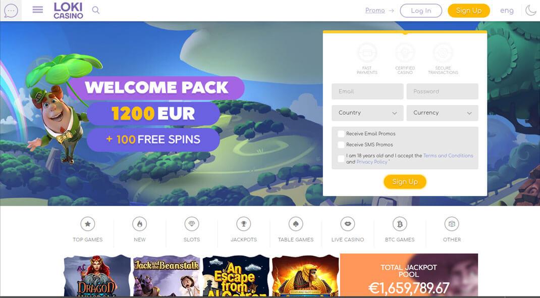 Loki Online Casino Canada review