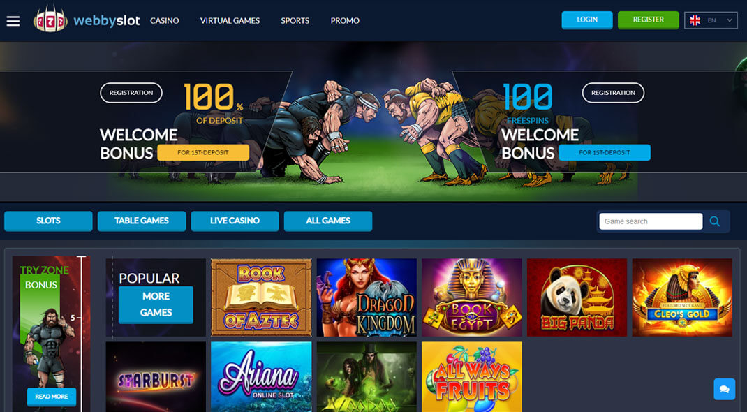 Webby Slots Online Casino review