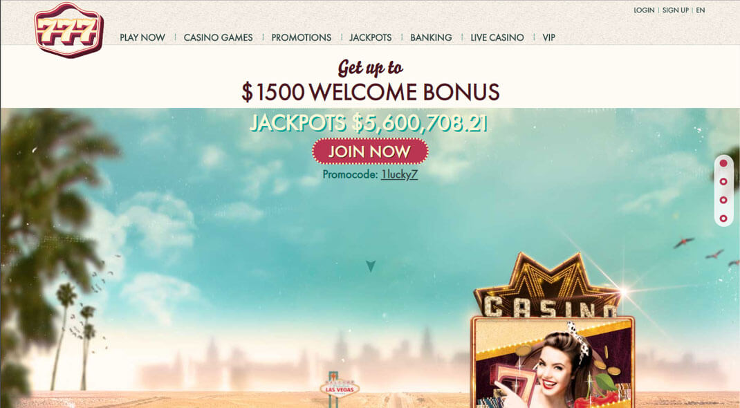 777 UK Online Casino review