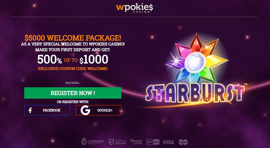 WPokies Online Casino review