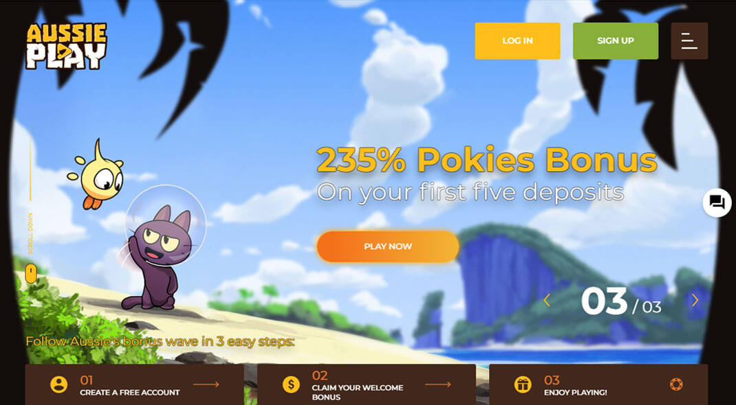 Aussie Play Online Casino review