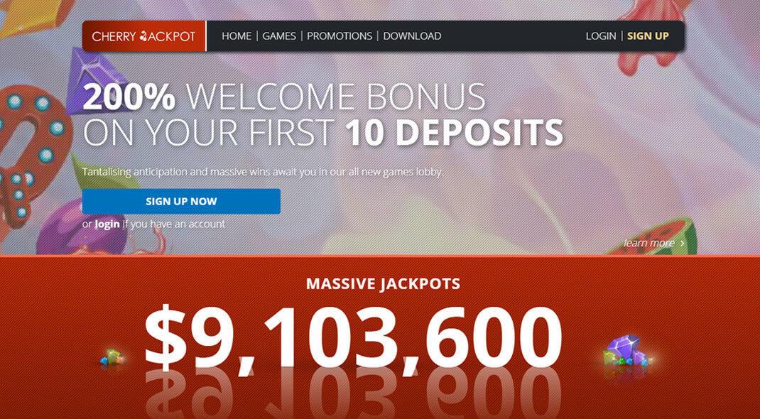 Cherry Jackpot Australian Online Casino review