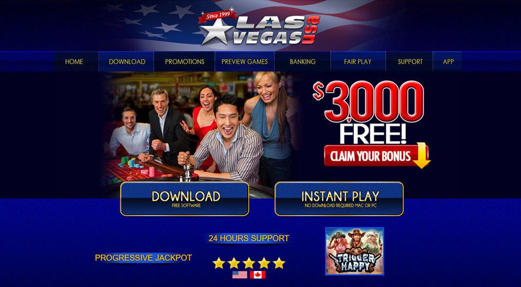 Las Vegas Us Casino 400 Welcome Bonus 2020