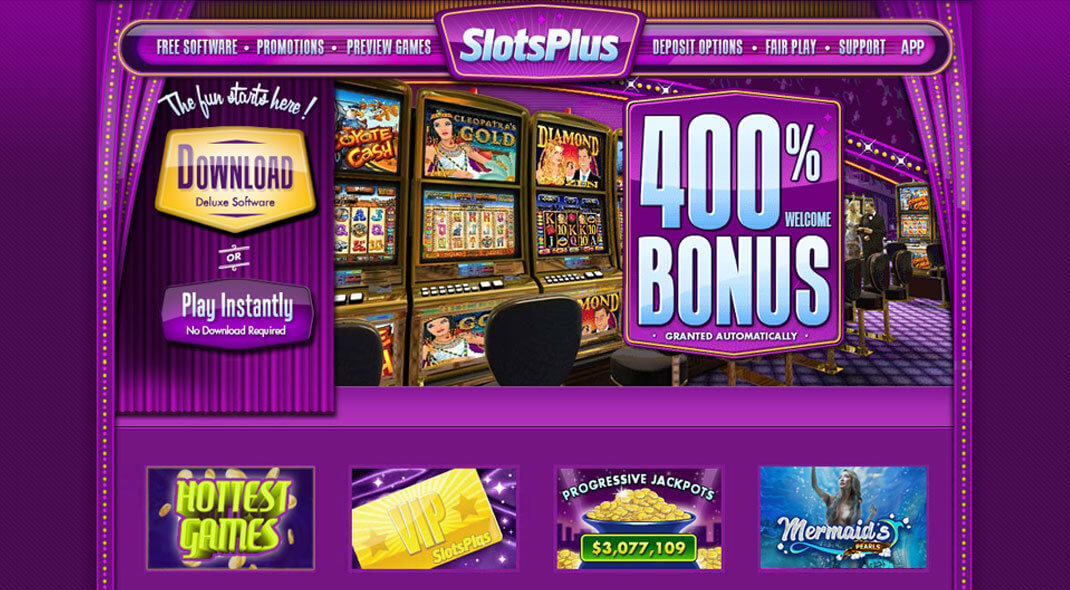 Slots Plus Casino review
