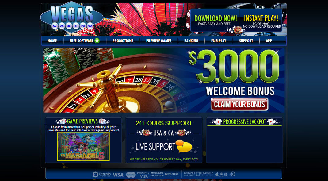 Vegas Casino review