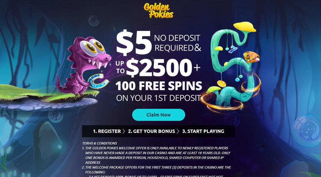 Golden Pokies Online Casino review