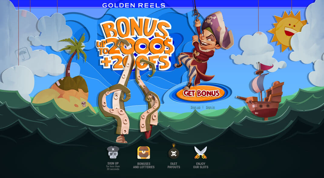 Golden Reels Online Casino review