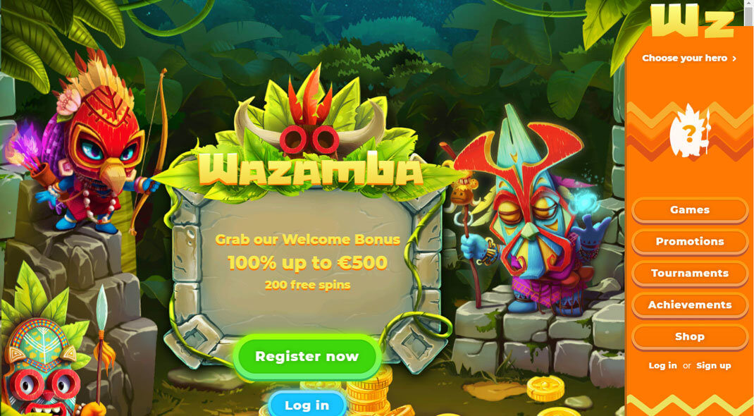 Wazamba Online Casino Canada review