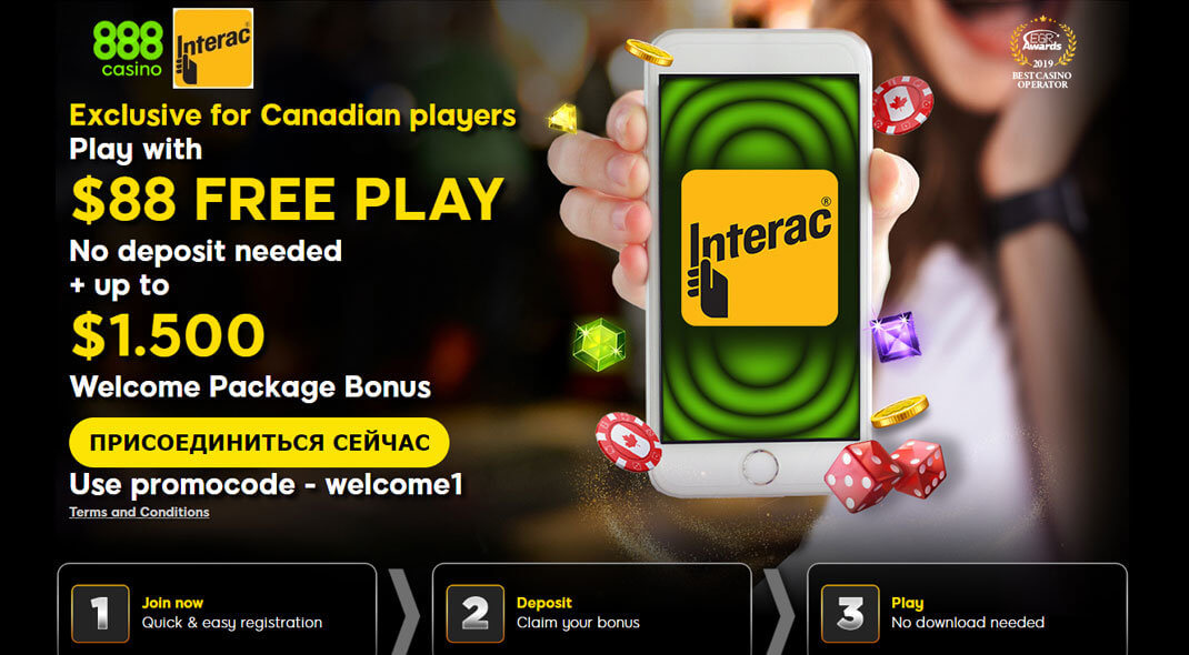 888 Online Casino Canada review