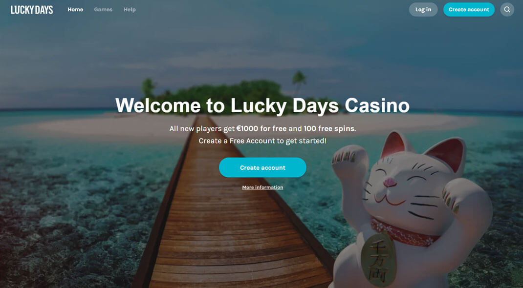 Lucky Days Canadian Online Casino review