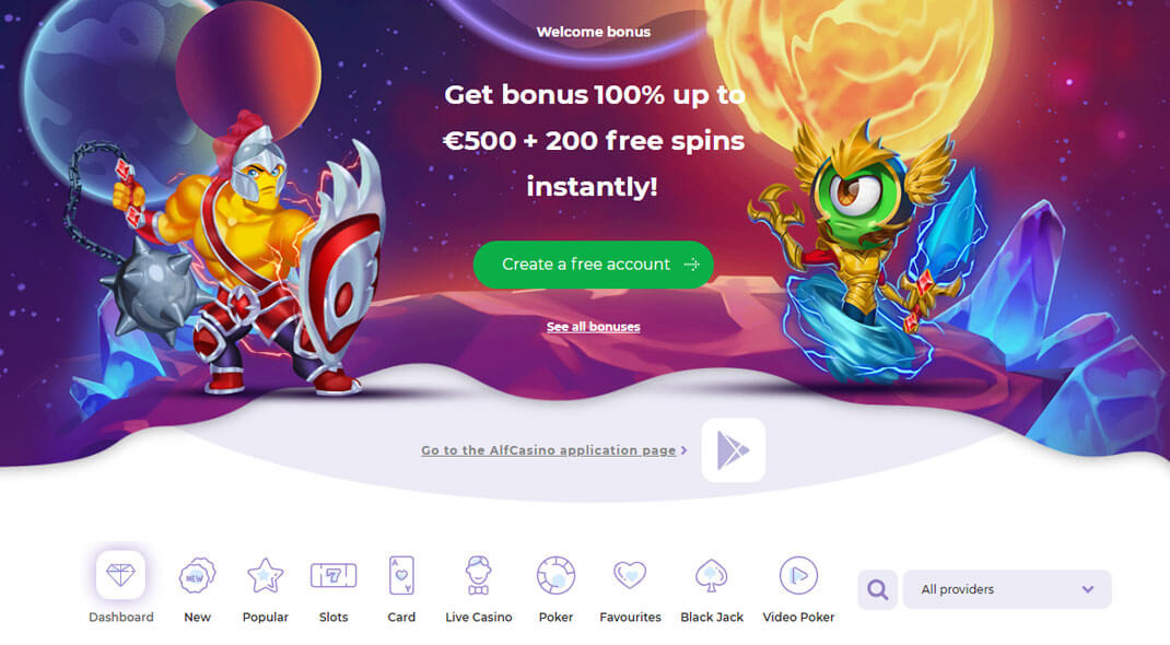 Alf Canadian Online Casino review