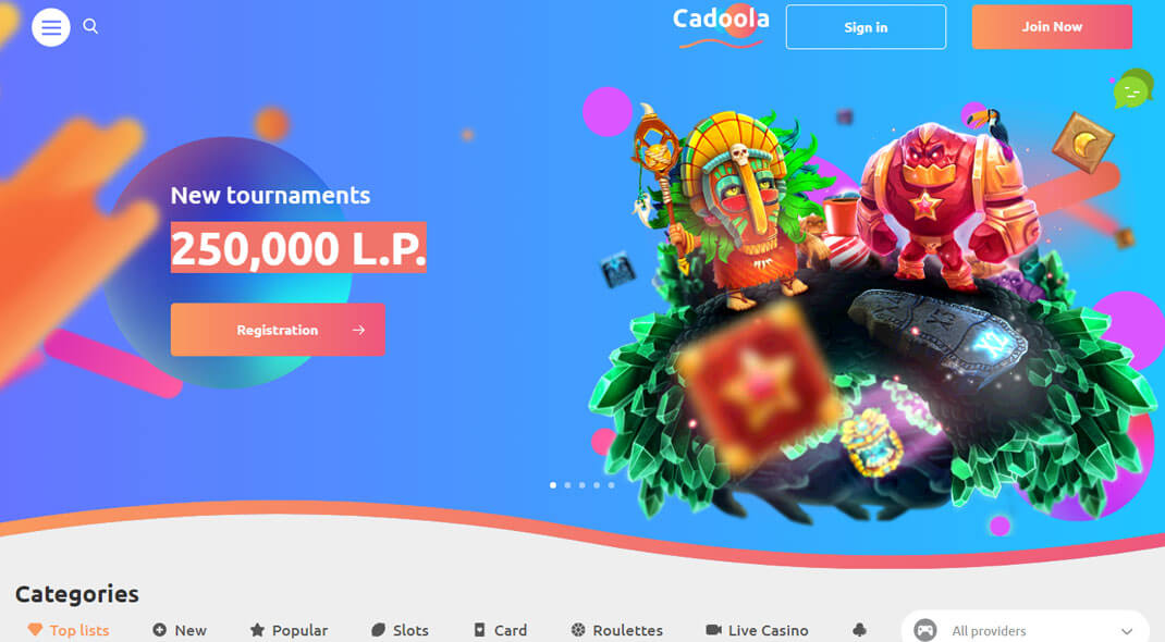 Cadoola Canadian Online Casino review