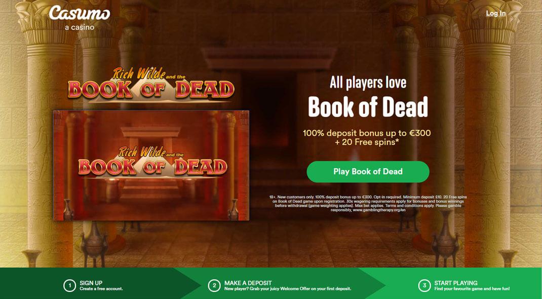 Casumo UK Online Casino review