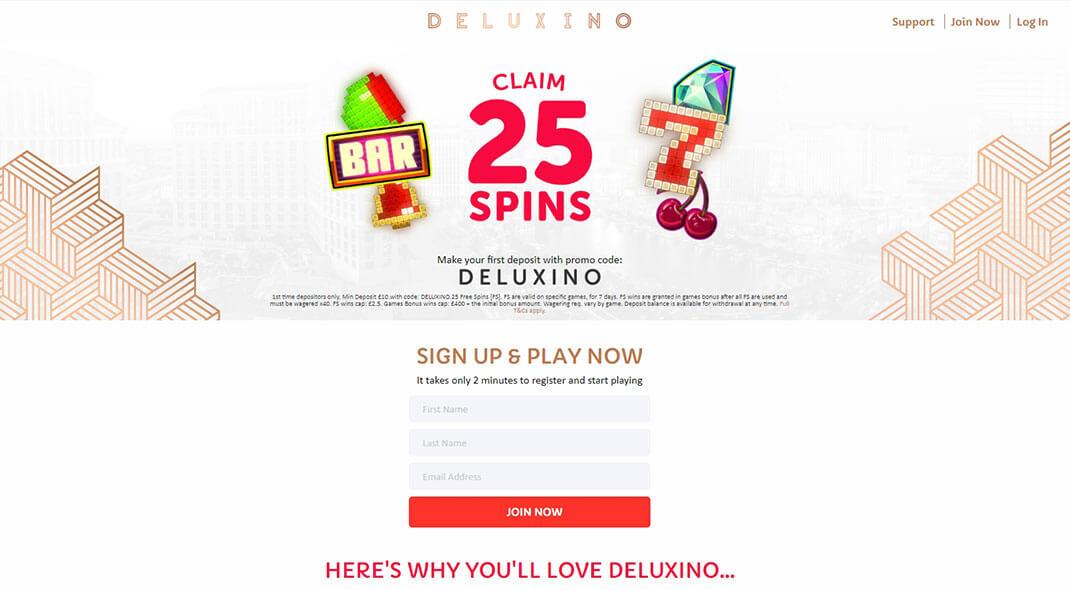Deluxino Online Casino review
