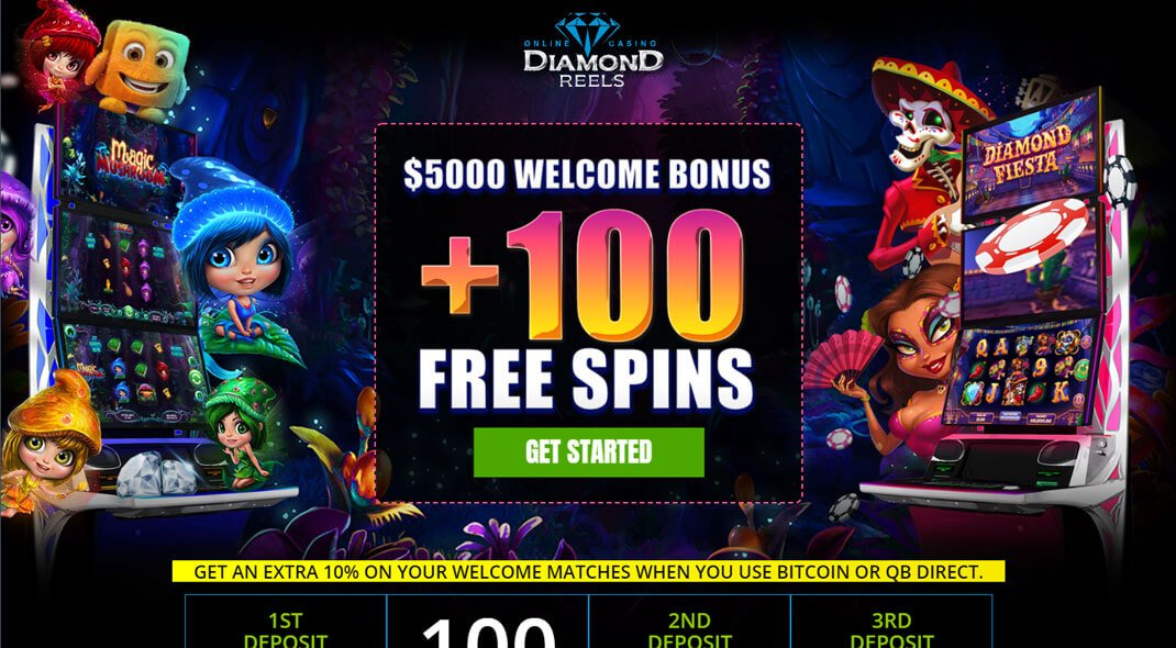 Diamond Reels US Online Casino review