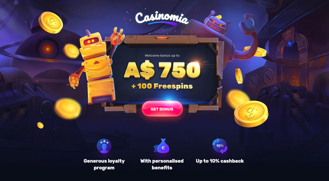 Casinomia Aussie Online Casino review