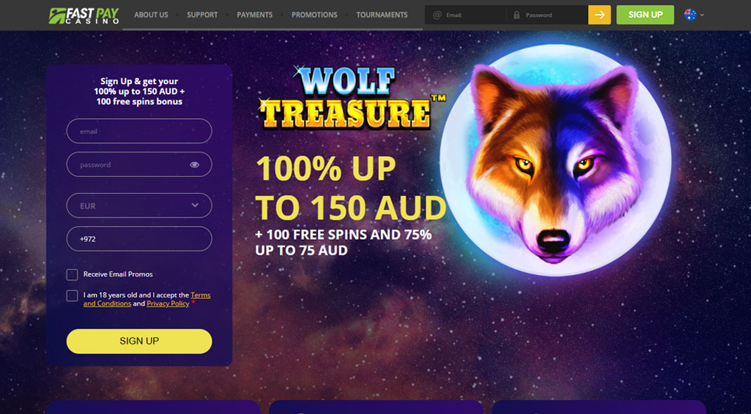 FastPay Online Casino review